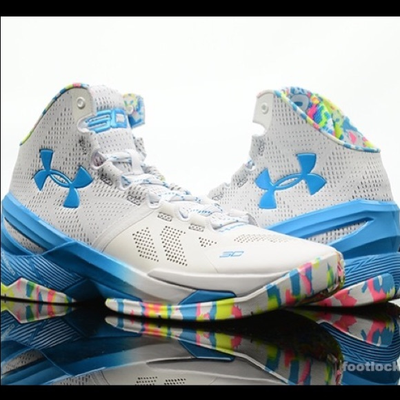 buy popular a32ac b8ec2 Men's UA Curry 2 Basketball Shoe / Surprise Party.  M_5aac23e09a9455ebd635fd28